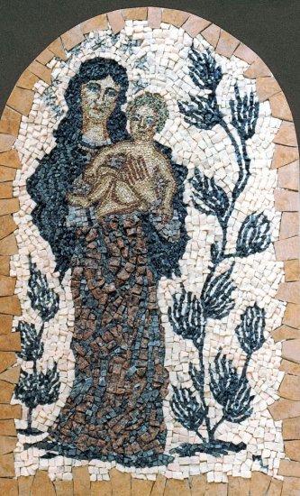 Mozaika Madona v trní