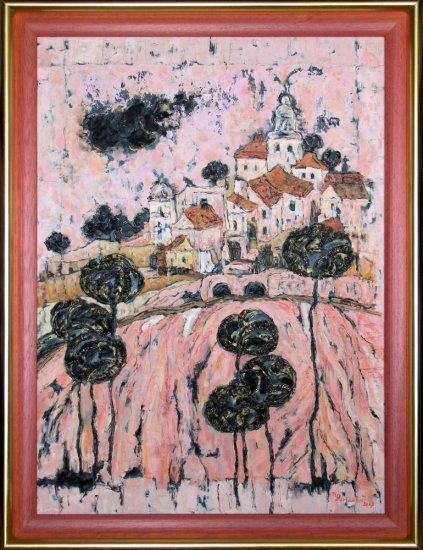 Obraz U starého lomu v Provence