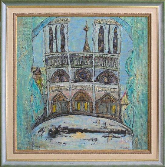 Obraz Notre Dame, Paříž