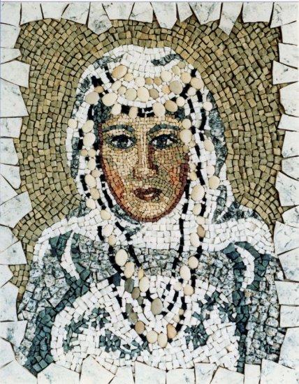 Mozaika Madona z Tuniska