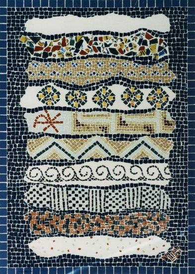 Mozaika Setkání v Karthagu - panel I