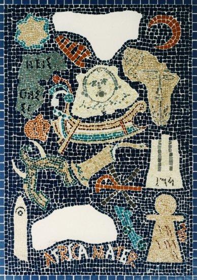 Mozaika Setkání v Karthagu - panel II