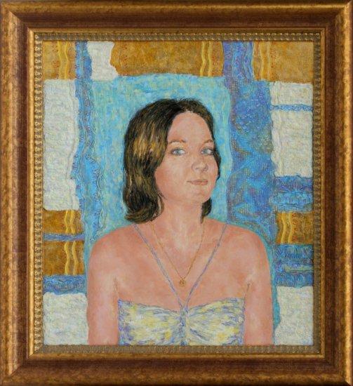 Obraz Helenka s modrou