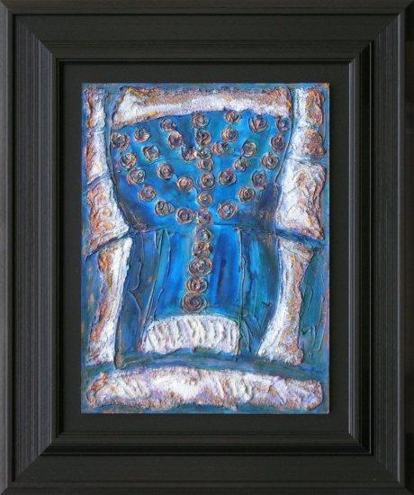 Obraz Menora z Ejn Gedi, Izrael