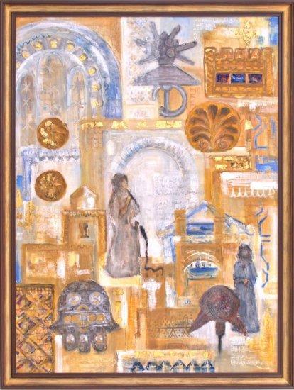 Obraz Koberec času I, Maroko