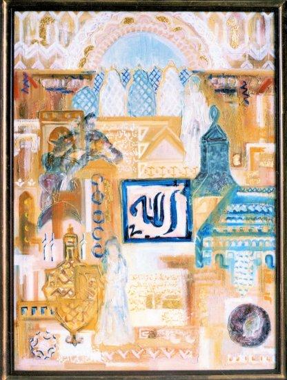 Obraz Koberec času II, Maroko