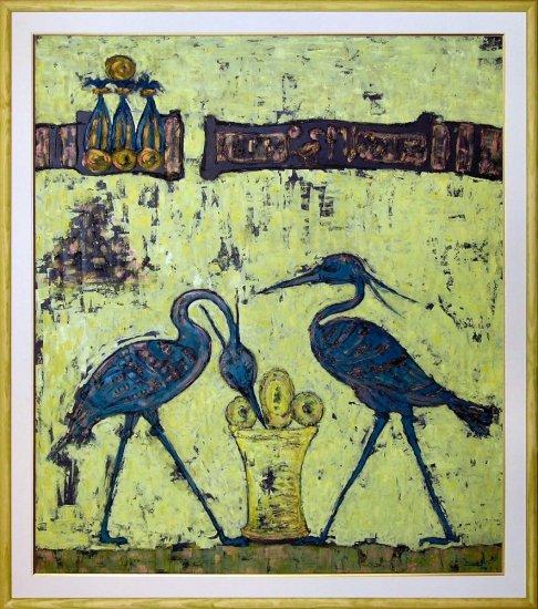 Obraz Posvátní ptáci Benu-Benu, Egypt