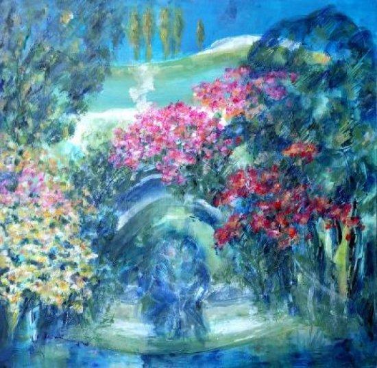 """Obraz Obraz """"Tajnosti"""" je první částí triptychu nazvaného """"Touhy"""""""
