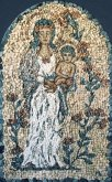 Mozaika Madona v růžích