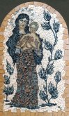 Mosaic Madonna In Thornbush