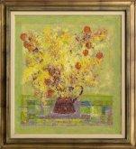 Obraz Džbán s květy židovské třešně
