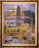Obraz Káhira za soumraku