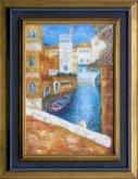 Obraz Benátky - kanál