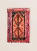 Obraz Červený koberec, Maroko