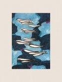 Obraz Hejno ryb
