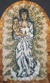 Mosaic Madonna Assumpta