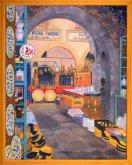 Obraz Velký bazar v Nabeul, Tunisko