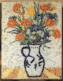 Mozaika Kytice s vlčími máky