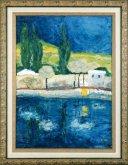 Obraz Vltava - levý břeh