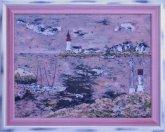 Obraz Pobřeží s majáky