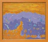 Obraz Fialové stíny