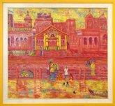 Painting GHAT IN VARANASI