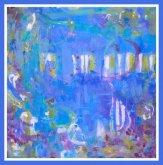 Obraz MODRÉ BLUES II