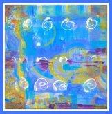 Obraz MODRÉ BLUES I