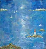 Painting LIGHTHOUSE IN BRETAGNE
