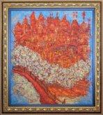 Obraz Červánky nad Prahou